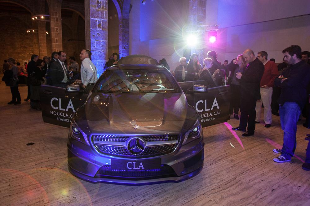 Presentación Mercedes CLA